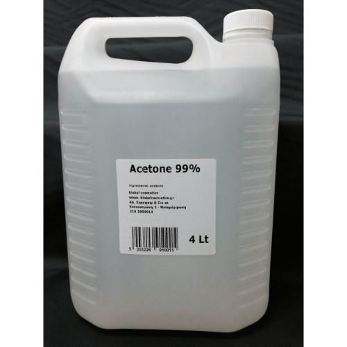 Ασετόν Καθαρό Μπετονάκι 4 λίτρα