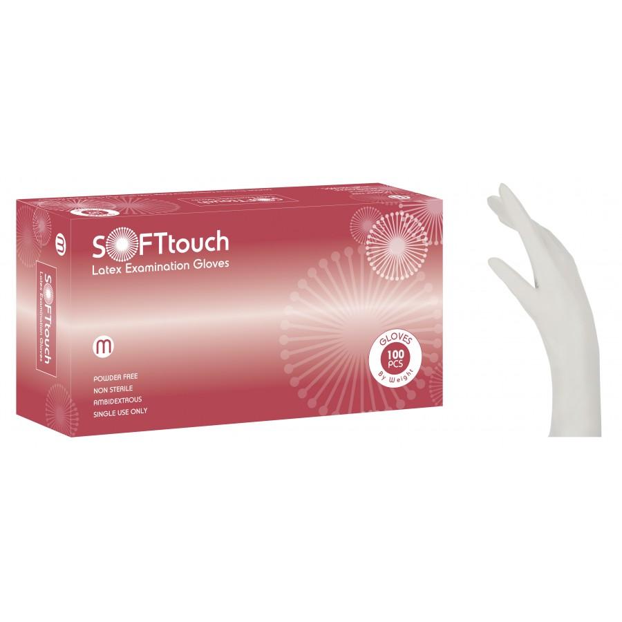 Γάντια μιας χρήσης - Γάντια Λάτεξ χωρίς πούδρα 100 τεμ  Γάντια