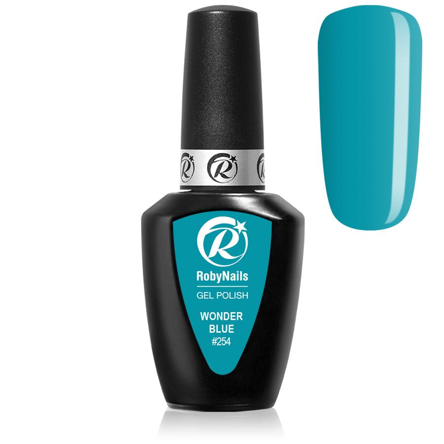 Wonder Blue Ημιμόνιμα Roby Nails