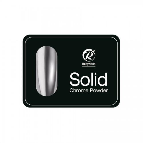 Solid Chrome πούδρα ασημί