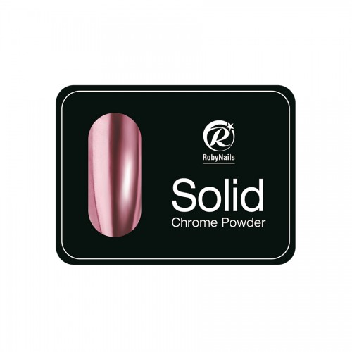 Solid Chrome πούδρα ροζ